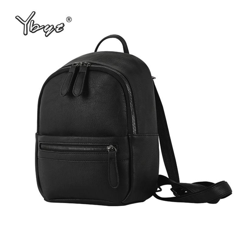 Малый консервативный стиль ярких цветов спортивные кольцо молния простая женская сумка-шоппер дамы мобильных Bookbags школьные рюкзаки
