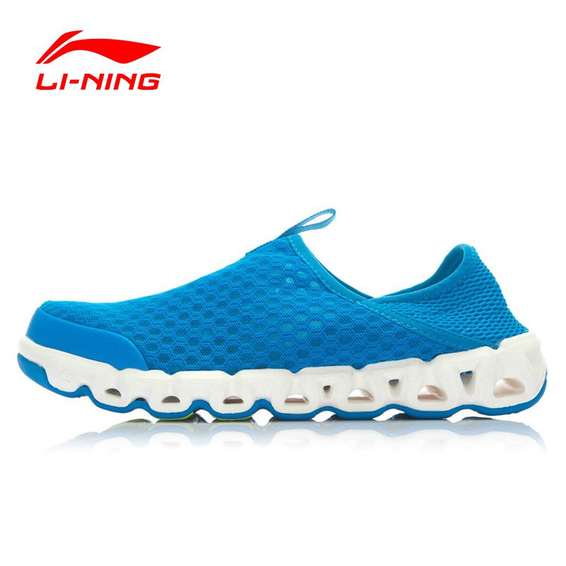 Li-Ning Outdoor Aqua Shoes Men Mesh Breathable Cushioning Li-Ning Arch Techonology Sneakers Sport ShoesLINING AHLJ007 XYD105
