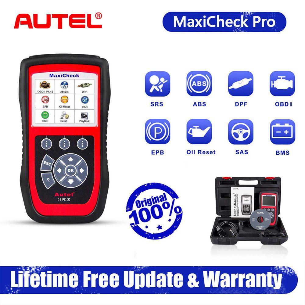 Autel MaxiCheck Pro OBD2 Auto Diagnose Werkzeug EPB/ABS/SRS/SAS/Airbag/Öl Service-Reset /BMS/DPF Spezielle funktion Auto Scanner