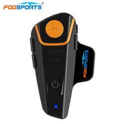 BT-S2 Pro motocicleta auriculares casco intercomunicador interfono inalámbrico Bluetooth manos libres impermeable FM Radio 7 Manual de idiomas
