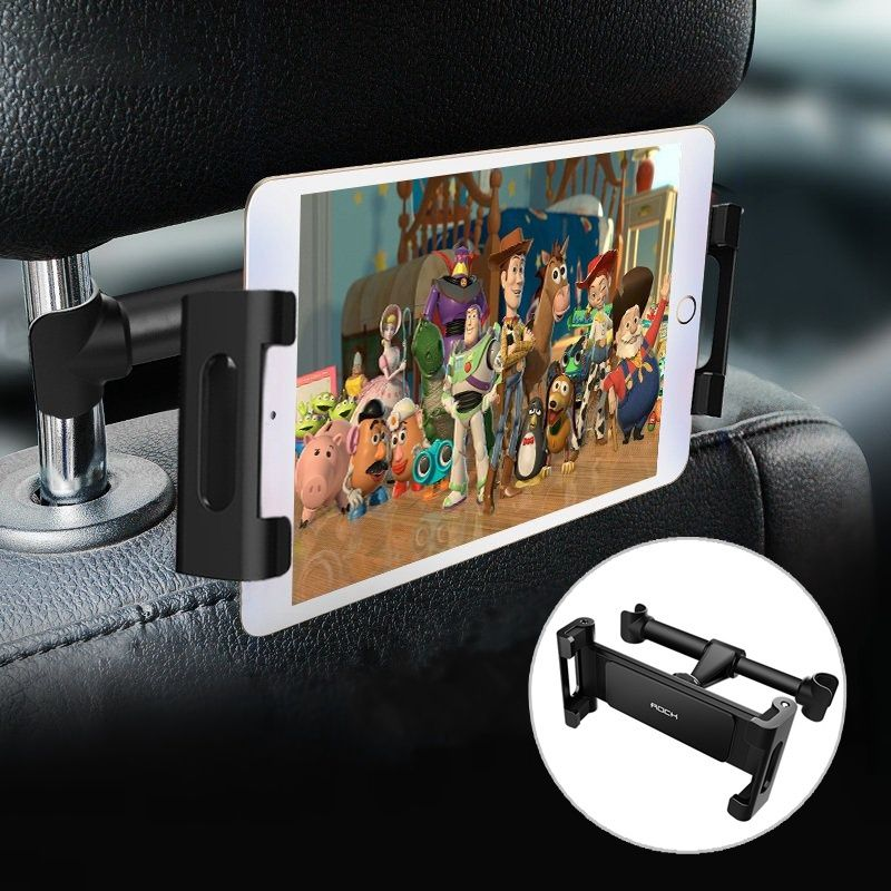 Original ROCK Car Backseat Holder Headseat Mount Lazy Holder Phone Stand for iPhone- for Samsung For Xiaomi High Quality