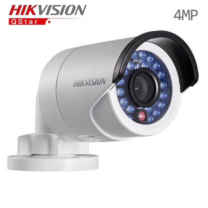 Hikvision Original English outdoor Surveillance Camera DS-2CD2042WD-I 4MP Mini IP bullet Camera 1080p POE Security CCTV Camera