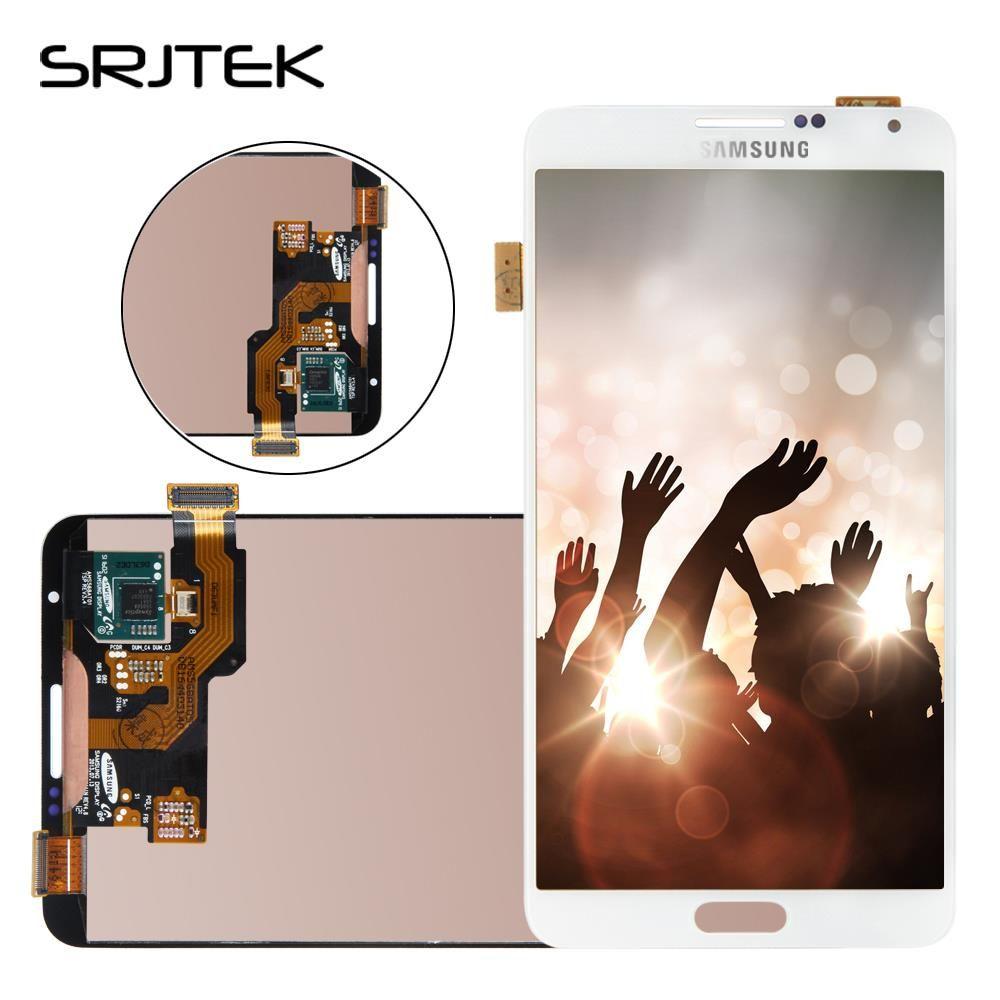 Bildschirm Für Samsung Galaxy Note N9005 3 LCD Display Touch Digitizer Sensor Glass Montage Mit Rahmen Für Galaxy Anmerkung3