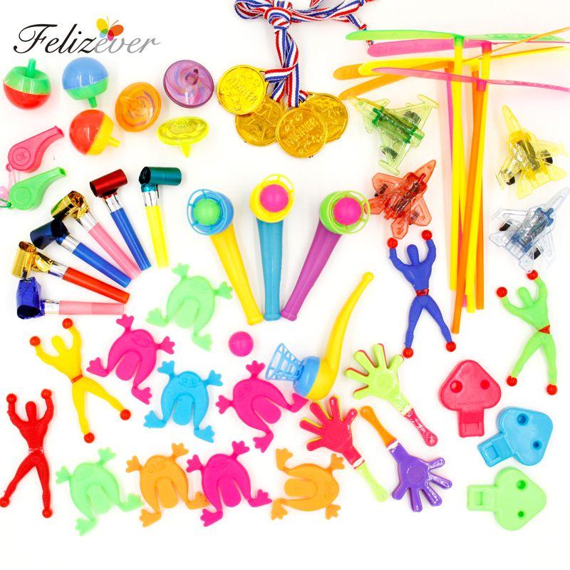 50 pièces enfants fête d'anniversaire faveurs Pinata remplissage cadeau jouets Goodie sac jouets carnaval prix fête jouets pour les garçons et les filles