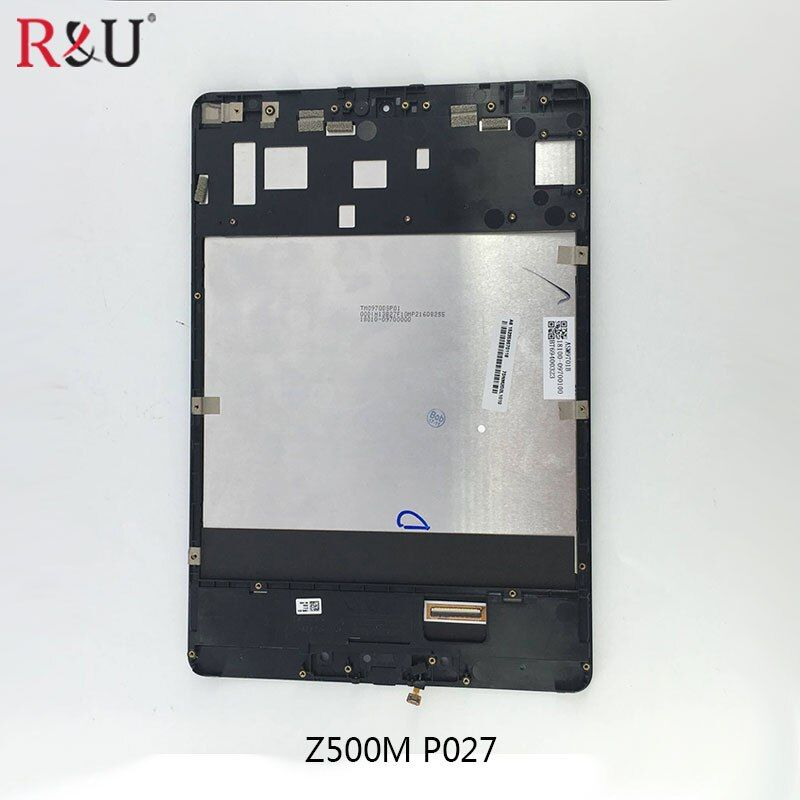 LCD Display and Touch screen Panel Digitizer Glass Assembly Replacement with frame For ASUS ZenPad 3S 10 Z500M P027