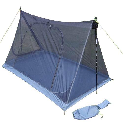 Eisman AXEMAN léger Double couche gaze respirante été avec auvent de tente de moustique peut utiliser