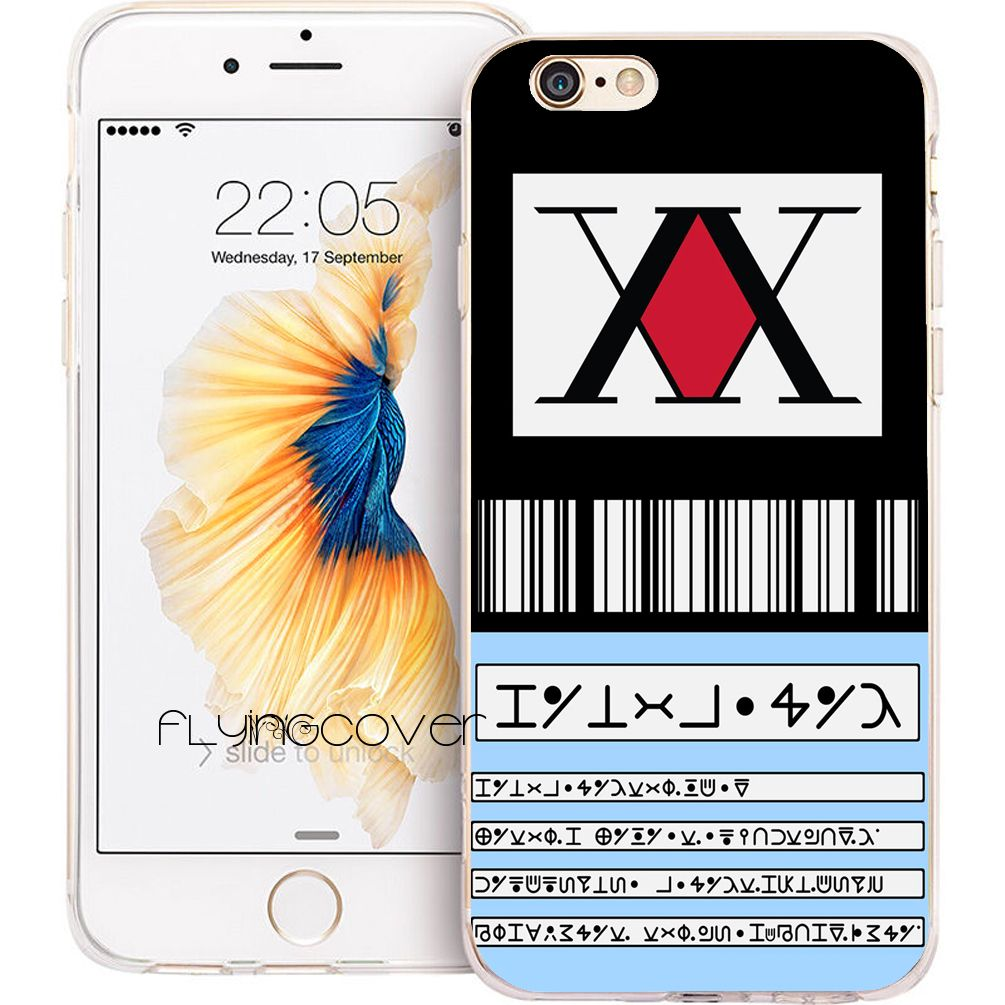 Coque Hunter лицензии Fundas Мягкие TPU телефон силиконовый чехол для iPhone X 7 8 плюс 5S 5 SE 6 6 S плюс 5C 4S 4 Ipod Touch 6 5 Чехол.