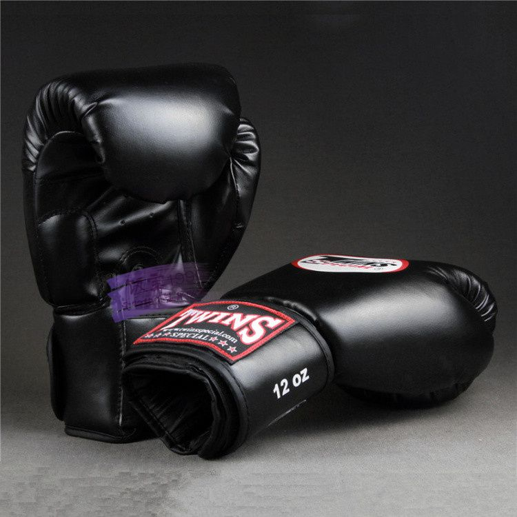 Upset the twins boxing gloves adult kids playing sandbags parry that men and women fight training sanda muay Thai boxing gloves