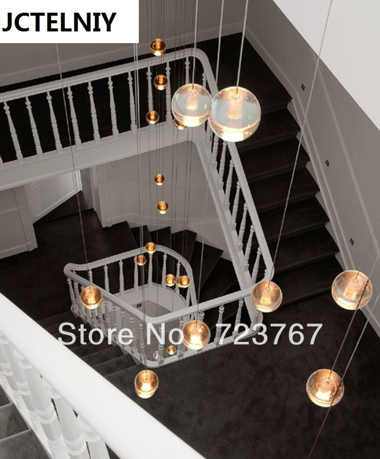 HOT  14 LIGHTS CONTEMPORARY CLEAR CAST GLASS SPHERE / BALL  CHANDELIER WITH POLISHED CHROME ROUND STAINLESS STEEL BASE