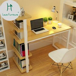 Louis Fashion Children Desk Computer Table Family Small Bookcase Combination Simple Office Student Study