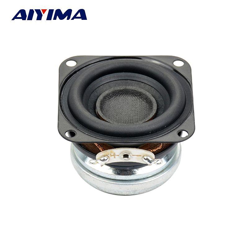 AIYIMA 1pcs 1.5 inch full range 4ohm 10W 40mm Fever Bluetooth wifi speaker strong neodymium loudspeaker