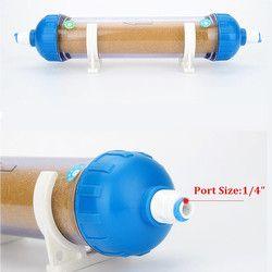 RO Rechargeable Inline filtre cartouche Pouces rempli avec Résine Échangeuse d'ions Enlever Le Tartre Et Adoucir L'eau Qualité