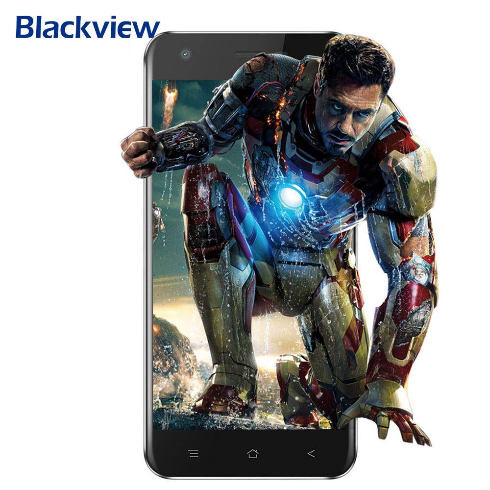 <font><b>Blackview</b></font> A7 Android 7.0 MTK6580A Quad Core 5.0 16:9 HD IPS Screen 1GB+8GB 0.3MP+5MP Dual Rear Cams Bluetooth 4.1 3G Smartphone