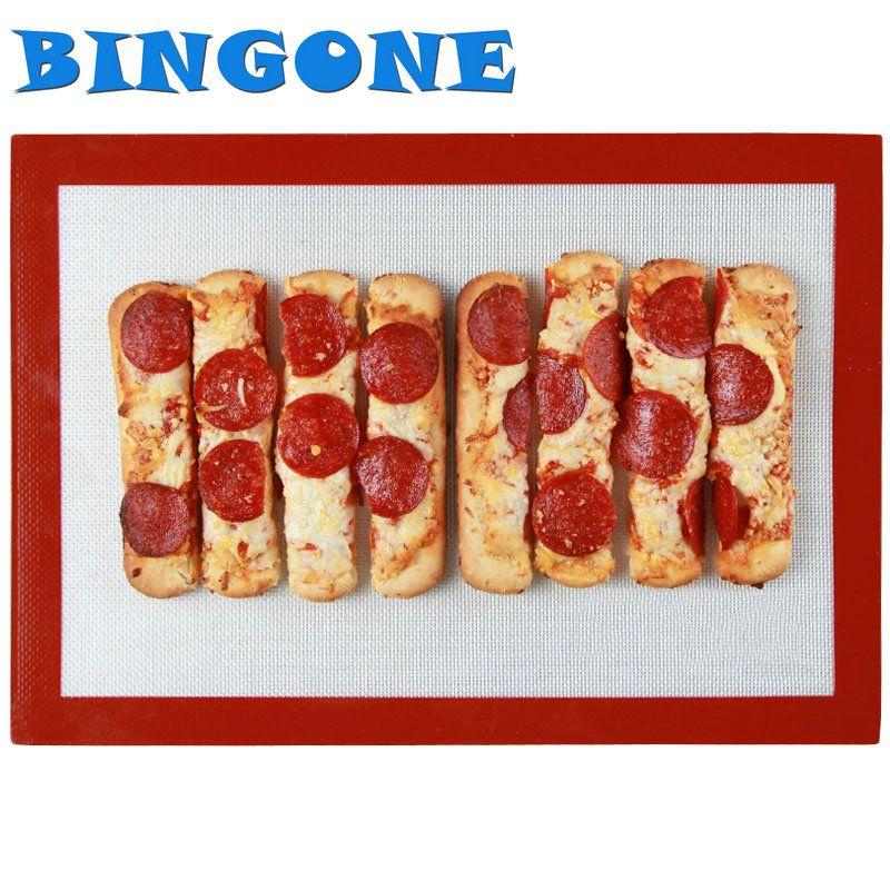BINGONE 1x M 30*40 cm antiadhésif de qualité alimentaire en Silicone tapis de cuisson pâtisserie Macarons Pad tapis de cuisson four plateau de cuisson outils de cuisine-TF