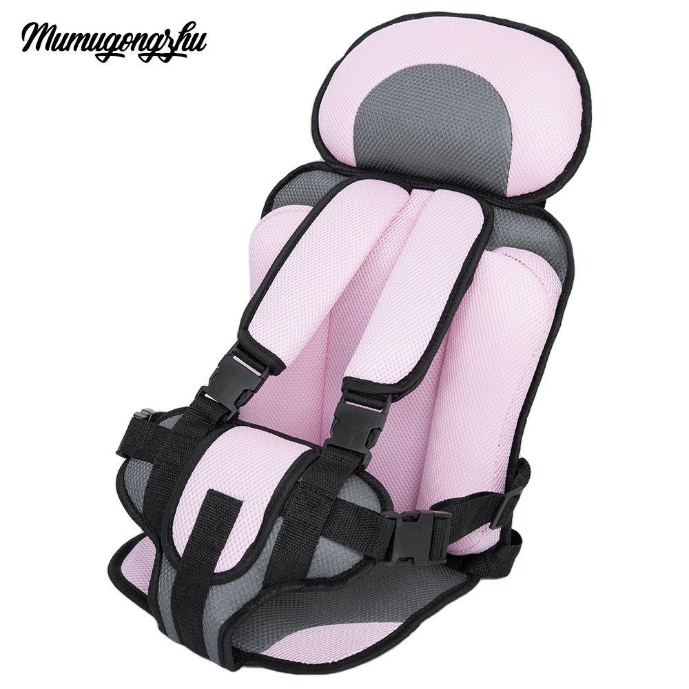 Siège D'auto pour bébé Infantile Siège Sûr Portable Chaises de Bébé Sièges de Sécurité pour Enfants Mise À Jour Version Épaississement Éponge Enfants Siège De Voiture