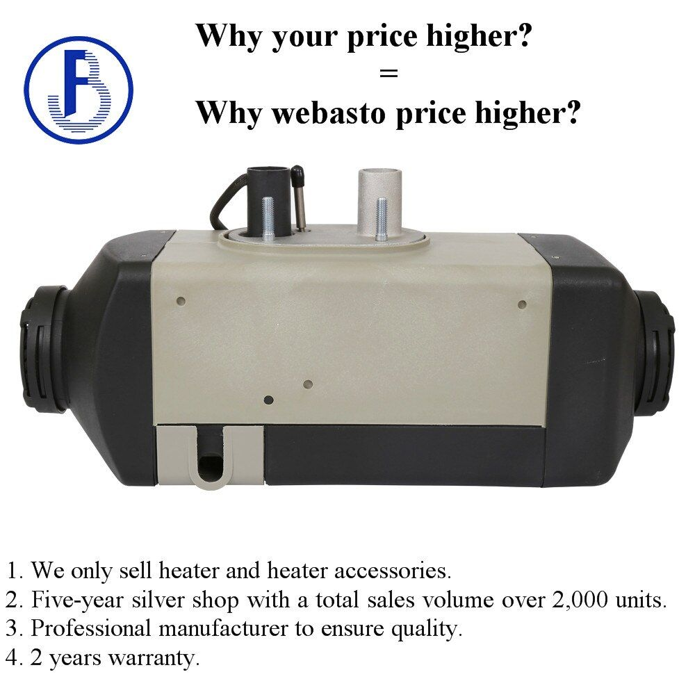 Belief air 2kw 12v diesel parking heater for car camper caravan ship truck bus etc similar to webasto heater