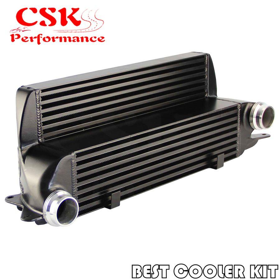 Tuning Leistung Ladeluftkühler Passt Für BMW 525d 530d 535d E60/E61 04-10 635d E63/E64 06 -10 schwarz/Silber