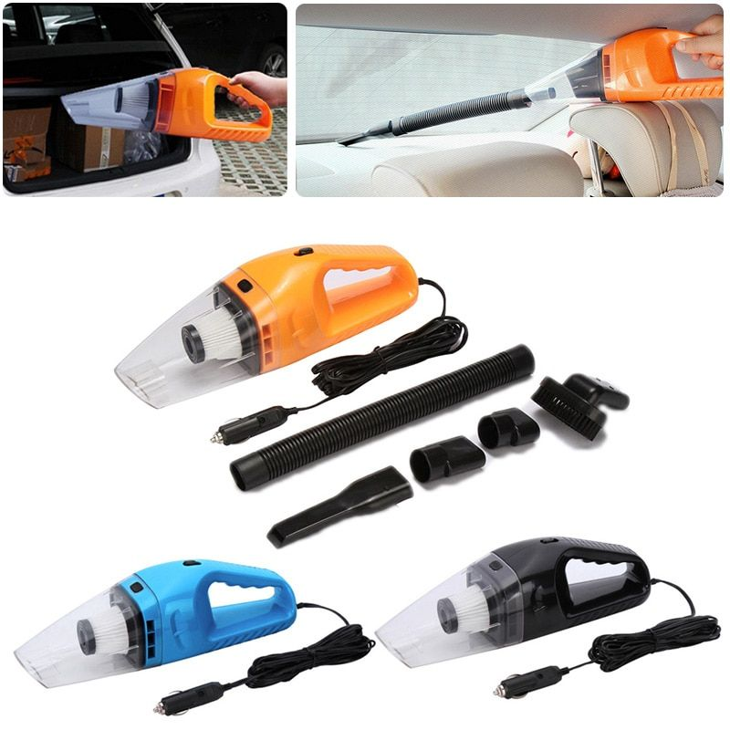 Car Styling Vacuum 12V Auto Vacuum Cleaner 6 in 1 Handheld Vacuums with 5m Power Cord CSL2017