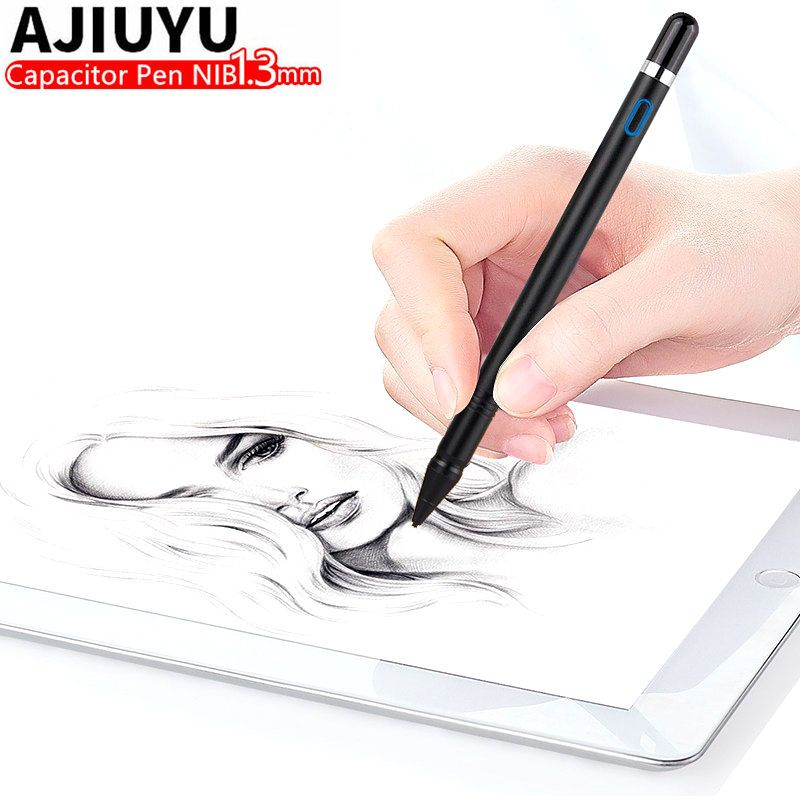 Active Pen Stylus Touch Screen Pen For iPad 9.7 inch New 2017 Air 2 1 ipad Air2 Tablet Capacitive Pencil Case Pen High precision
