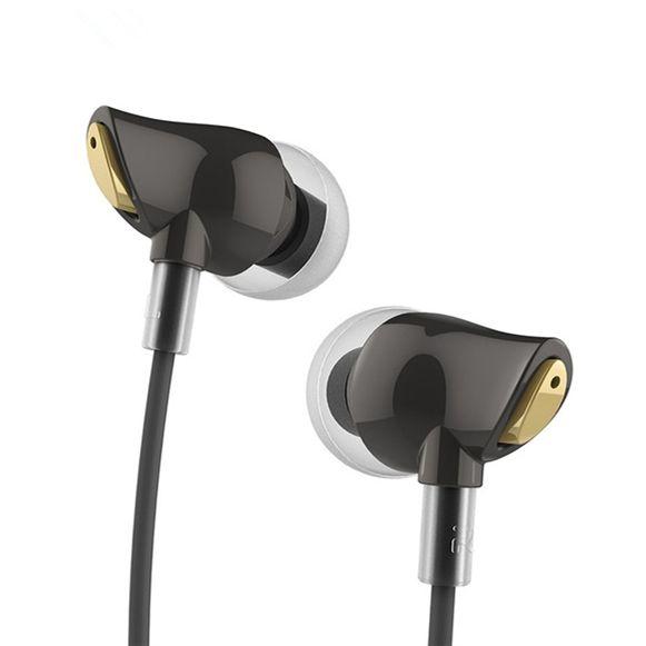 100% D'origine Rock Écouteur Nano Zircon Stéréo écouteurs 3.5mm En écouteurs oreille écouteurs pour iphone Samsung Avec Micro et Télécommande