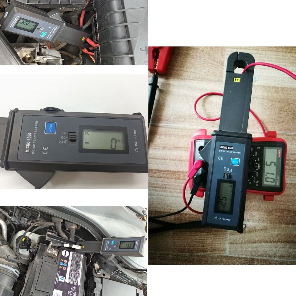 Lancol  MICRO-1200s Auto Diagnostic Tool  Leakage Current Tester with High Accuracy Current Clamp Resolution 1MA
