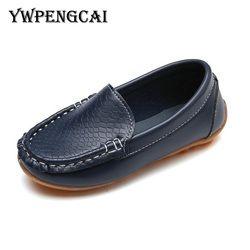8 Warna Anak Sepatu Seasons Anak Laki-laki Sepatu Lembut PU Kulit Sepatu Anak Perempuan Sepatu Ukuran 21-37 7HW0336