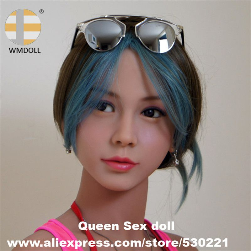 WMDOLL Top Quality Lifelike Sex Doll Heads For Japanese Real Adult Love Dolls Oral Sexy Toy
