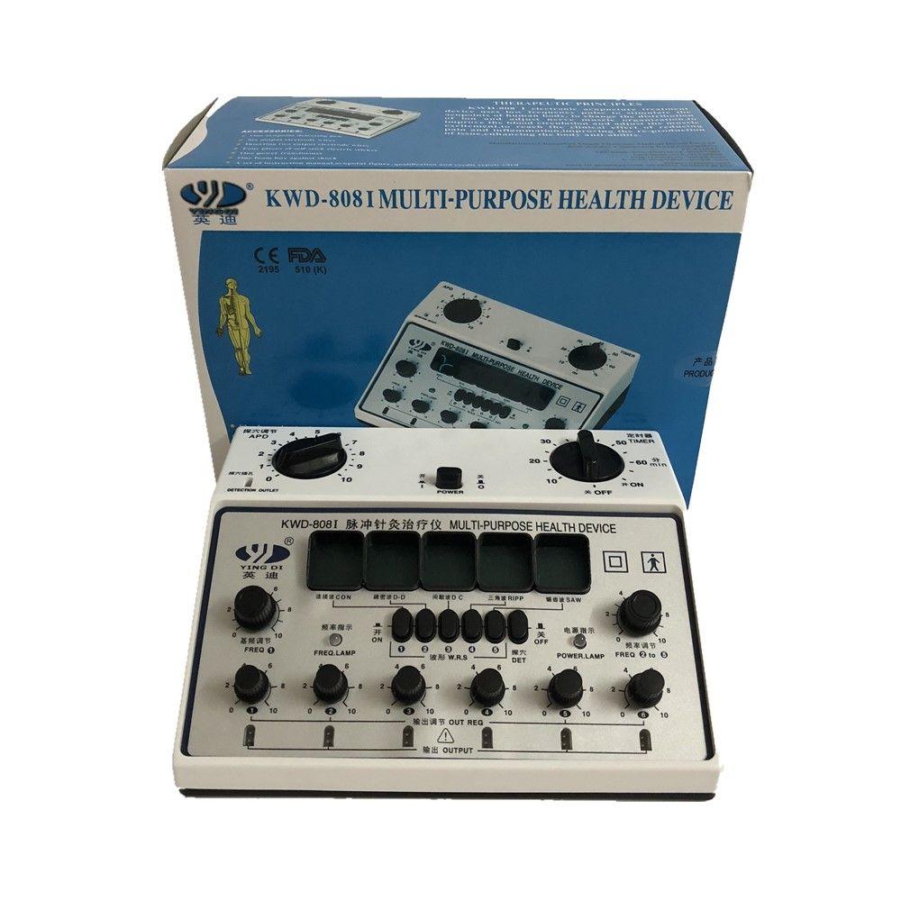 YingDi Brand Multi-Purpose Electro Acupuncture Stimulator KWD808-I 6 Channels Output 100% Quality assurance!!!!