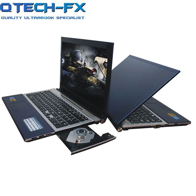 Große 15,6 Notebook SSD 512 GB/256 GB RAM 8GB Metall CPU Intel 4 Kerne Spiele PC business Arabisch AZERTY Spanisch Russische Tastatur