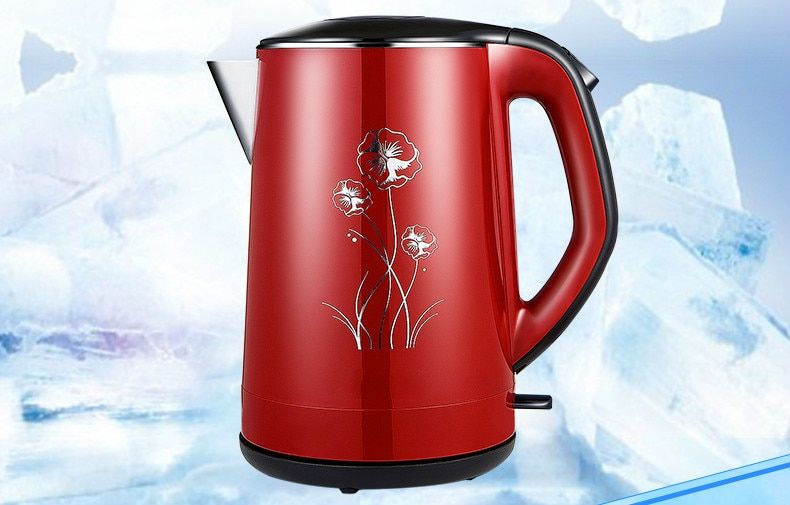 Electric kettle 304 stainless steel electric home heating water Overheat Protection