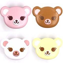 Asli Ibloom Teh Waktu Bear Licin Scented Paket Asli Bear Squishy Kawaii Squishies Kue Roti Gantungan Kunci Mainan Anak