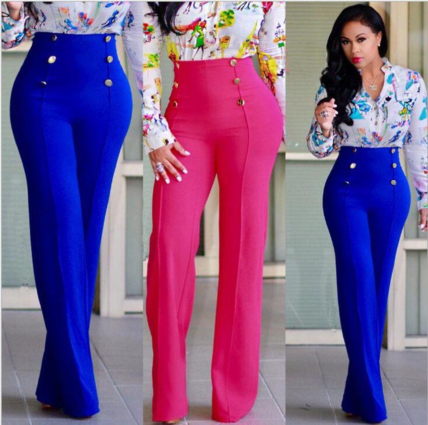 Best <font><b>selling</b></font> women's fashion casual trumpet trousers