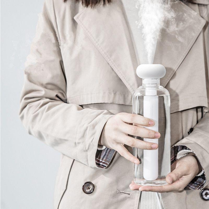Humidificateur d'air démontable blanc pour le bureau à la maison Portable USB diffuseur d'arôme fabricant de brouillard de voiture humidificateurs à ultrasons diffuseurs