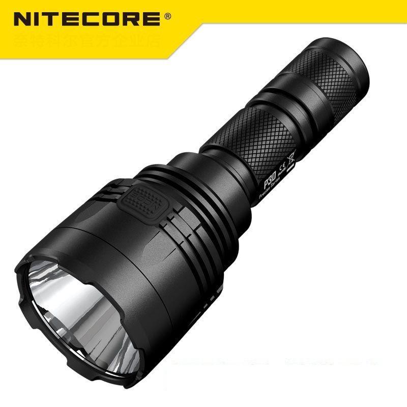 NEUE Nitecore P30 Taktische Taschenlampe 1000 Lm CREE XP-L HALLO LED Wasserdichte 18650 Outdoor Camping Jagd Tragbare Taschenlampe