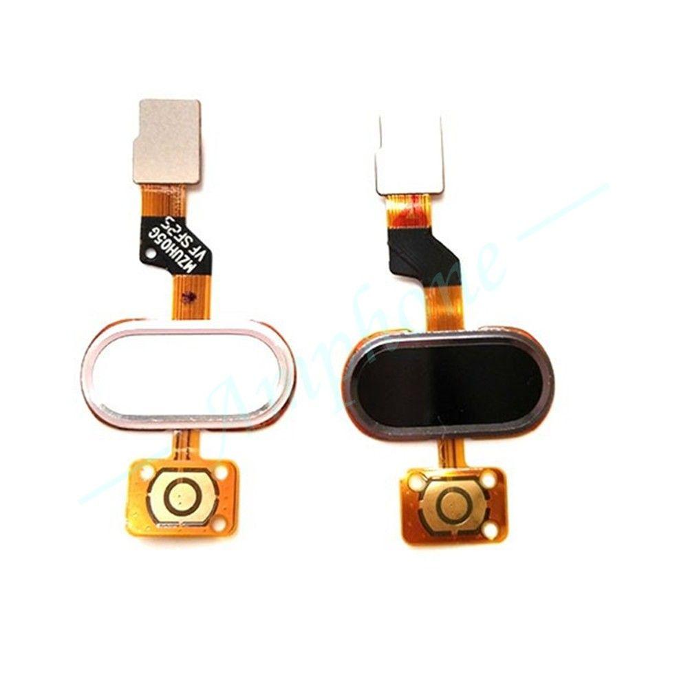 Original Pour MEIZU M3S Retours Claviers Module D'identification D'empreintes Digitales Tactile ID Capteur Bouton Home Touche OK