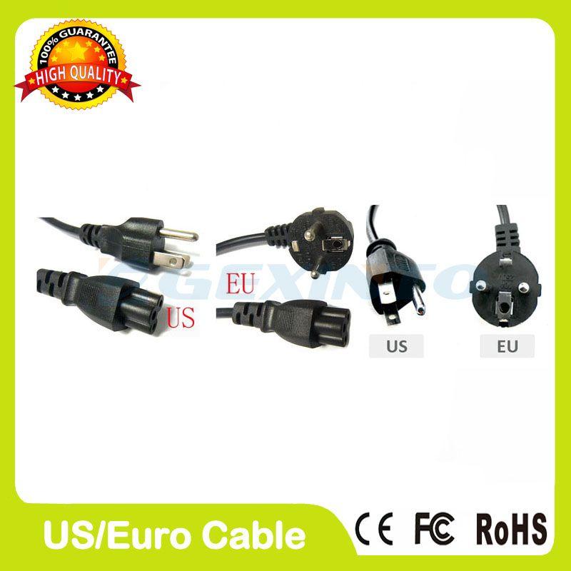 Netzkabel mit US/EURO STECKER Für Adapter Power Charger