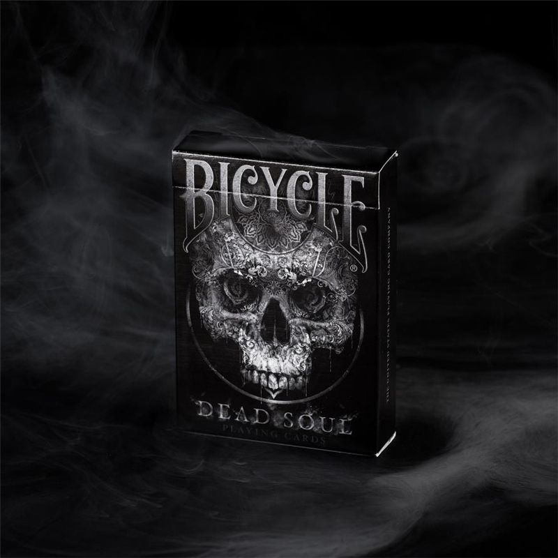 1 Deck Bicycle Dead Soul Playing Cards Magic Tricks black Colors Standard Poker Magic Card Game Entertainment 81348