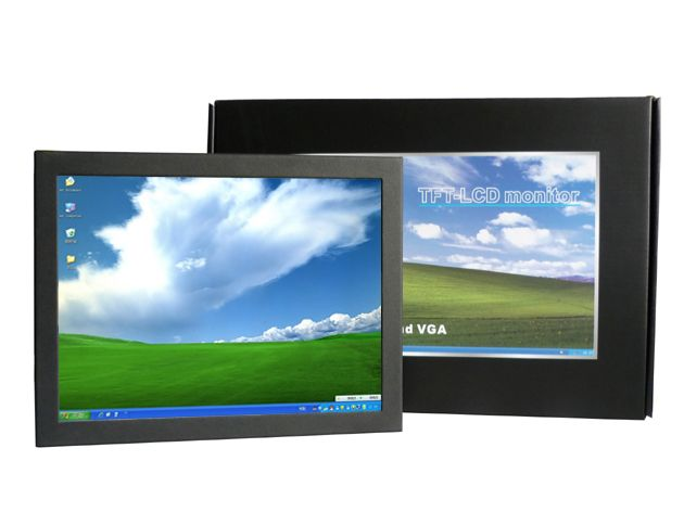 10 inch small touch screen open frame touch monitor with 450cd/m2