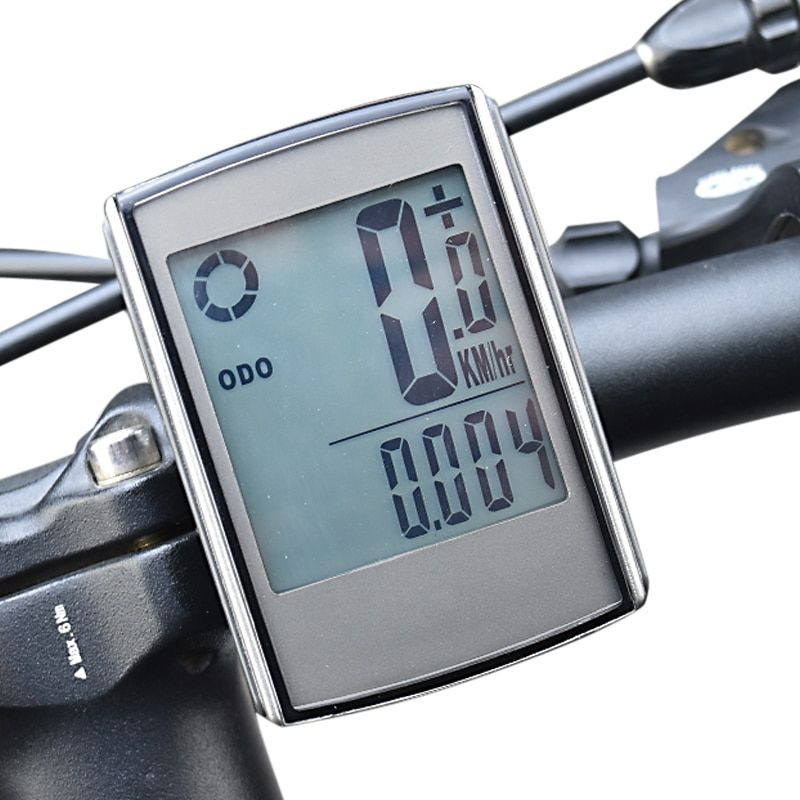 Wireless Bicycle Computer with Cadence and Heart Rate Monitor Bike Speedometer Waterproof Cycling <font><b>Odometer</b></font>