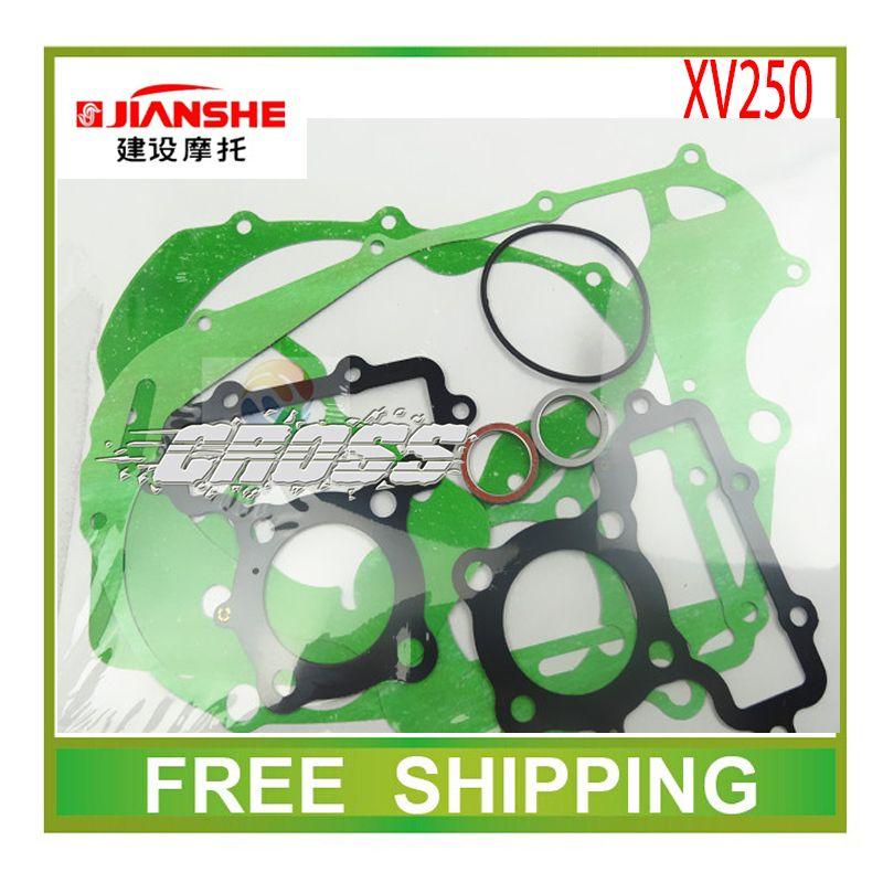 JIANSHE XV250 250cc QJ250H chooper chopper cylinder head gasket paper motorcycle accessories free shipping