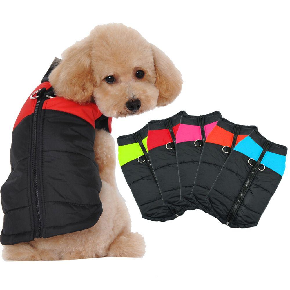 Одежда для собак для маленьких Товары для собак Зима Щенок Чихуахуа собака одежда Водонепроницаемый средний большой собаки куртка Ropa Para Пе...