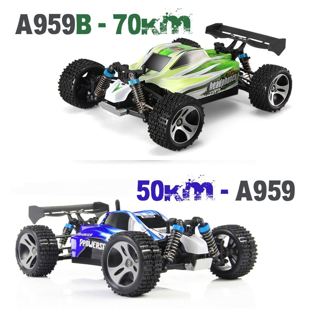 Tops Kid's Toy Gift RC Car 2.4G Radio Remote Control Model Scale 1:18 Rally Shockproof Rubber wheels Buggy Highspeed Off-Road