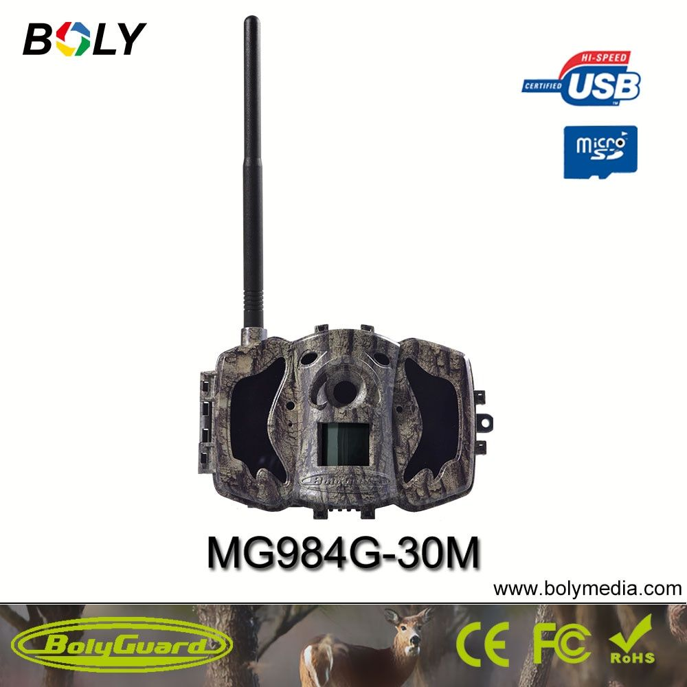 Bolyguard New 4G Wireless Hunting Camera With GSM Phone MMS GPRS Black IR 30MP 1080P HD Photo Traps Fast Transfering TrailCamera