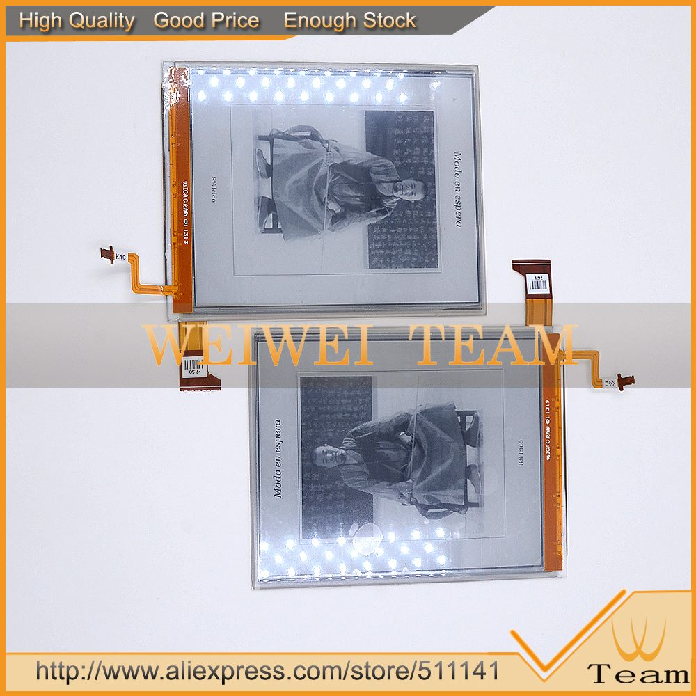 NEW Original 6inch E-Ink Pearl HD ink screen ED060XG1 (LF) C1 T1 ED060XG1(lf)T1-20 Resolution LCD Display E-book Reader