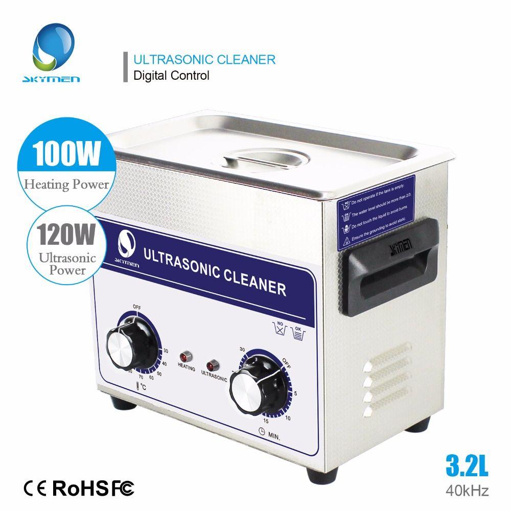 Skymen 3l Ultraschall Reiniger 3.2L 120 watt Edelstahl Ultraschall bad Krankenhaus Industrie Auto Motor Teile