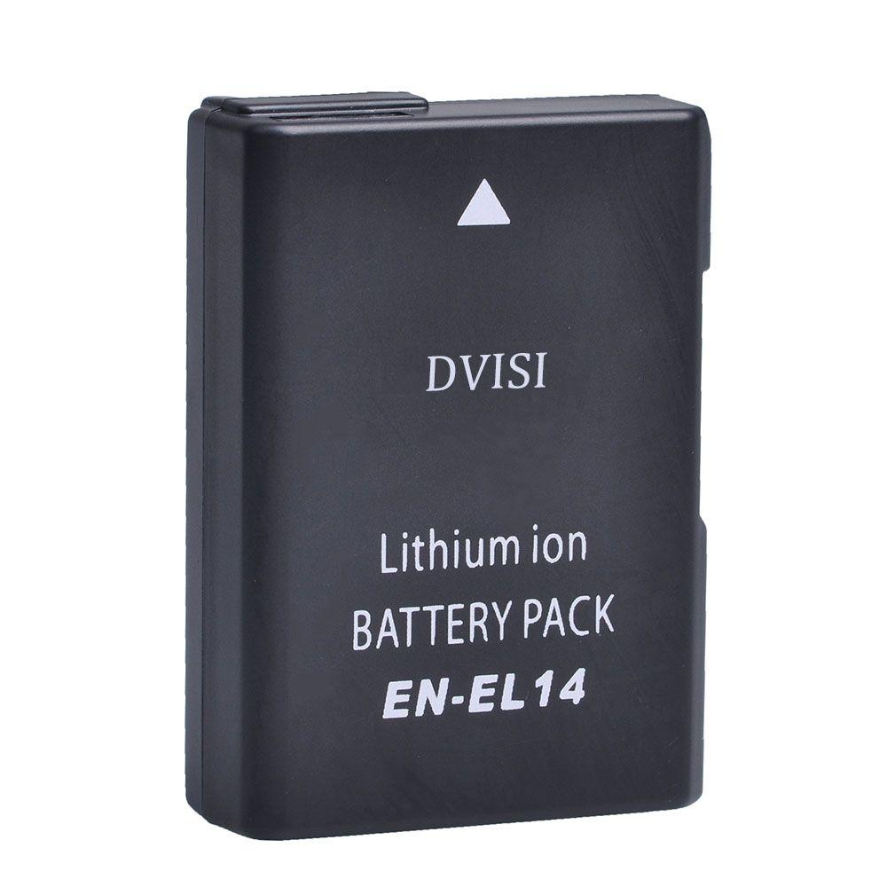 7.4 V 1.2Ah EN-EL14 EN EL14 ENEL14 Batterie D'appareil Photo pour Nikon D3100 D3200 D3300 D5100 D5200 D5300 D5500 DF P7000 P7100 P7700 P7800
