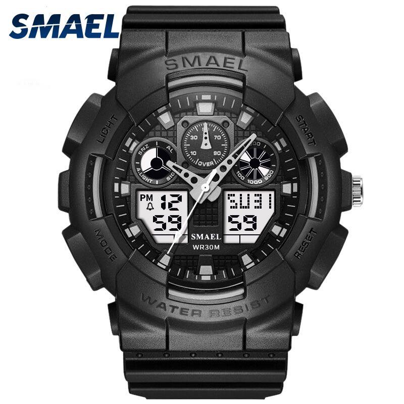 SMAEL Brand Watch Men Sport LED Digital Male ClockWristwath Mens watch top brand luxury Relogios Masculino <font><b>Montre</b></font> Homme WS1027