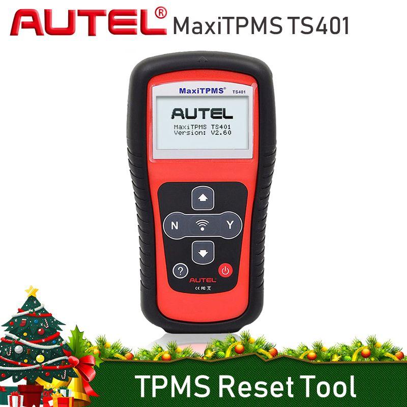 AUTEL MaxiTPMS TS401 TPMS Reset Tool Programming 315mhz 433mhz Sensor Tyre Pressure Tester Activate Relearn Clone TPMS Tools