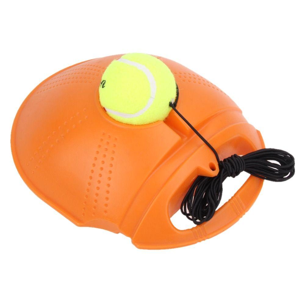 Livraison directe Tennis outil d'entraînement balle d'exercice avec des cordes Tennis formateur plinthe Sparring dispositif