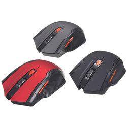 Hot mini 2.4 GHz Wireless Optical mouse para PC Gamer Portátiles para juegos nuevo juego inalámbrico Ratones con receptor USB envío de la gota mause